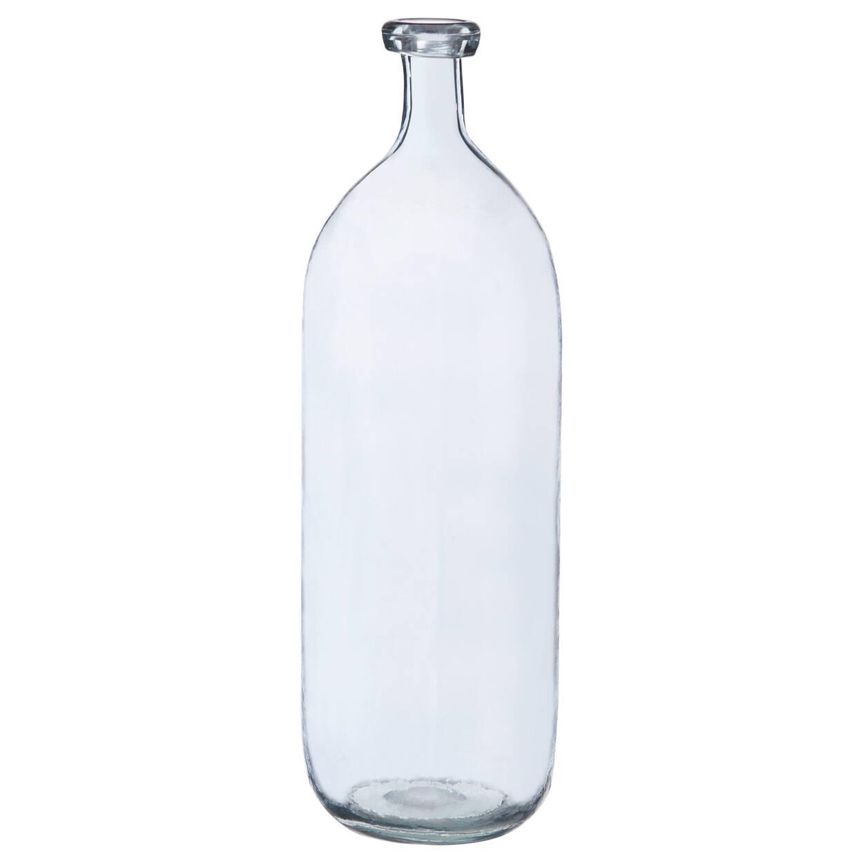 Vase bouteille en verre