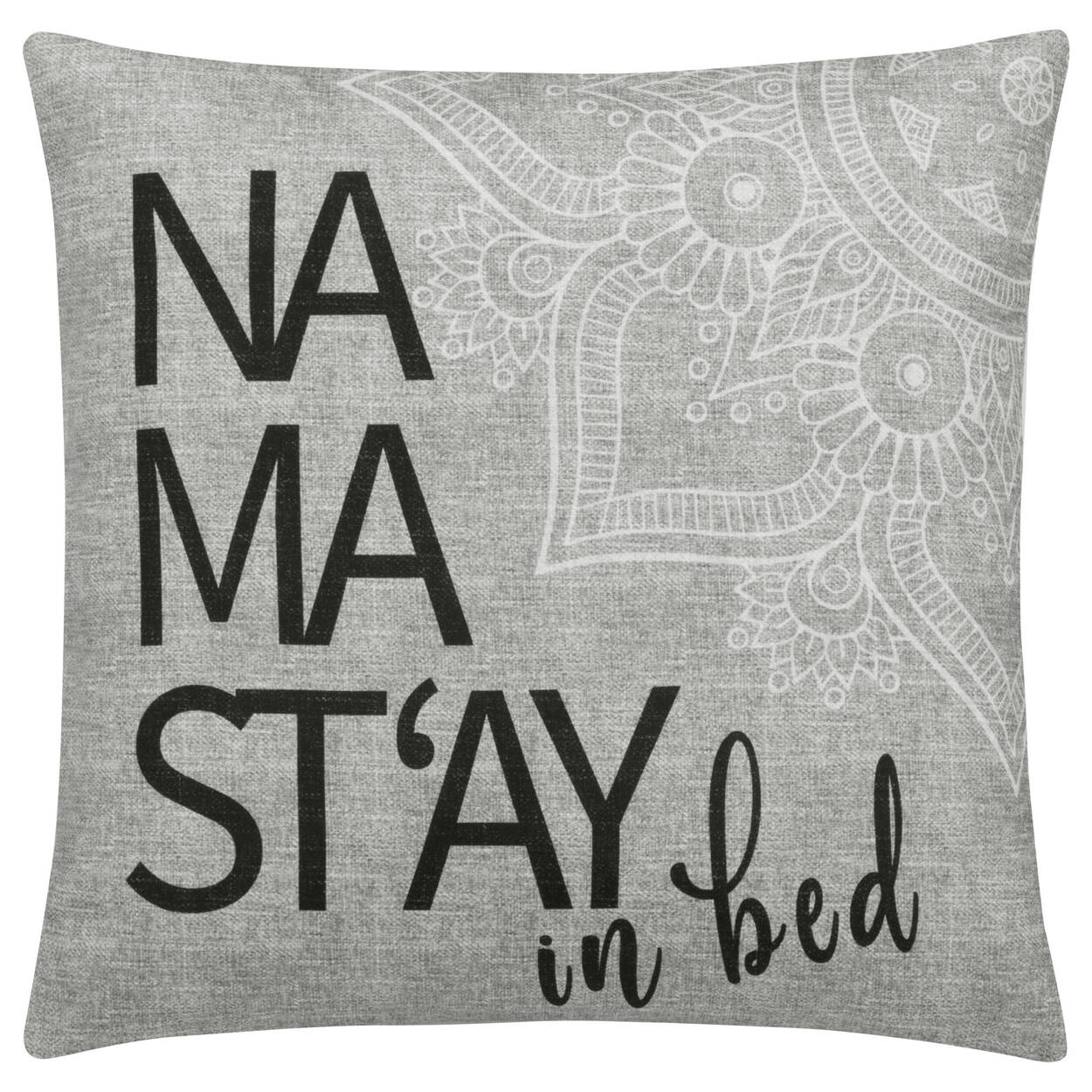 "Namast'ay Decorative Pillow Cover 18"" X 18"""