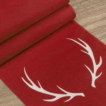 Table Runner with Antlers