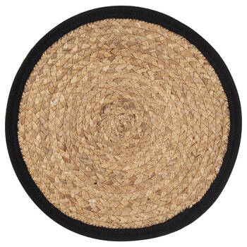 Round Natural Fiber Placemat