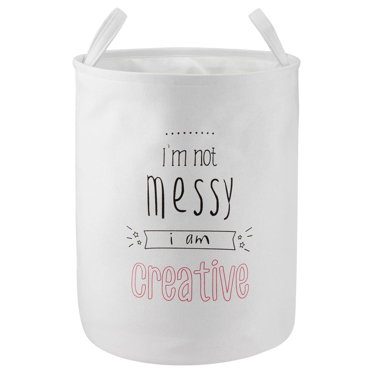 Messy Two-Sided Hamper
