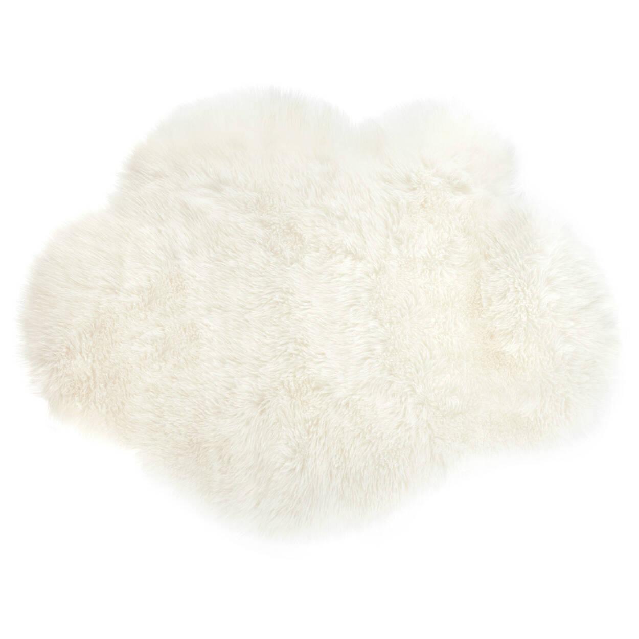 Tapis nuage en fausse fourrure | Bouclair.com