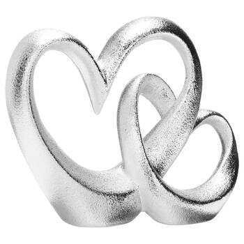 Decorative Ceramic Double Heart