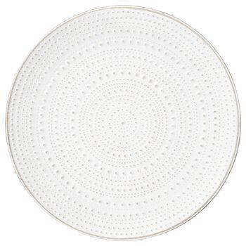 Assiette décorative texturée