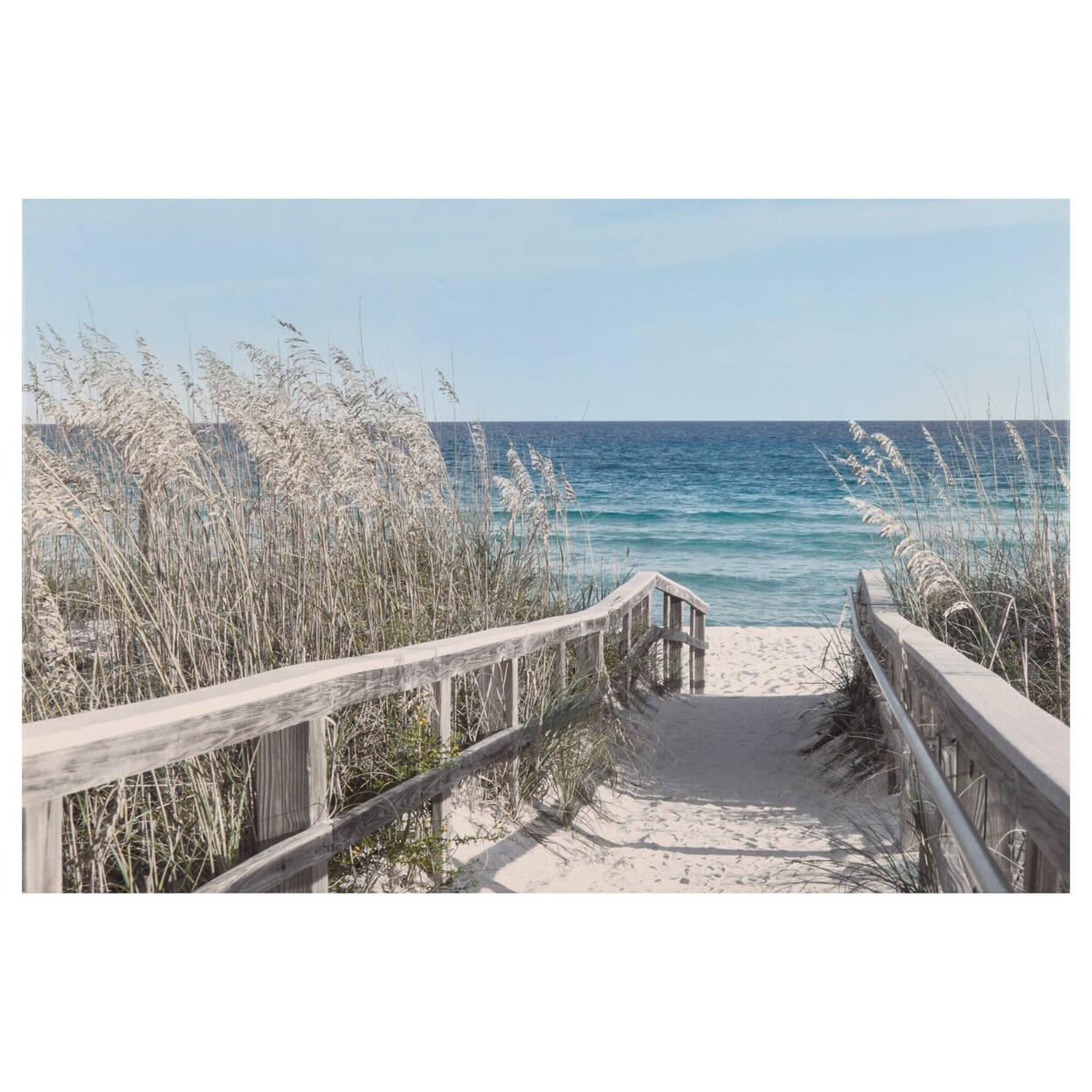 Boardwalk Printed Canvas