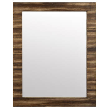 Wood Planks Mirror