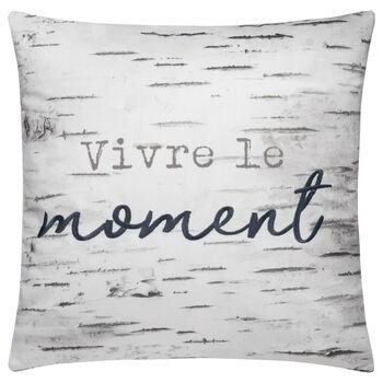 """Vivre le Moment Decorative Pillow 18"""" X 18"""""""