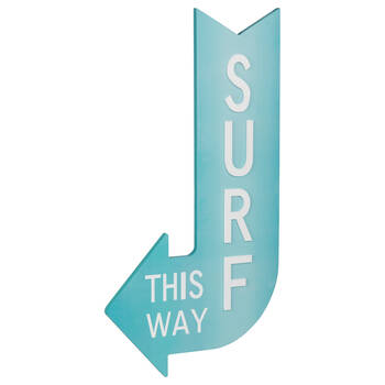 Surf Sign Wall Art
