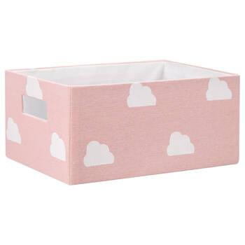 Panier de rangement en nuages imprimés