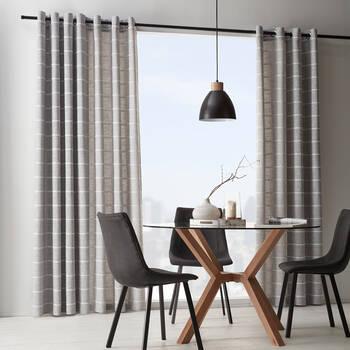 Kalmar Embroidered Curtain