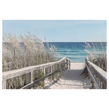 Boardwalk Printed Canvas