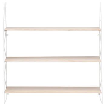 Three-Level Wall Shelf