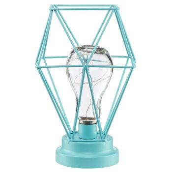 Ampoule géométrique avec lumière LED