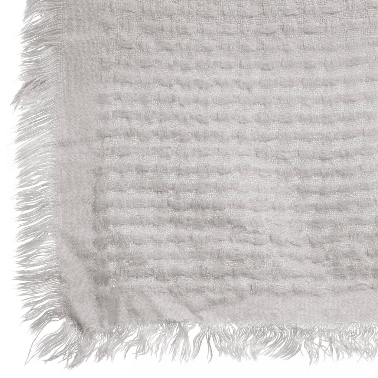 "Marni Throw with Fringed Edges 50"" X 60"""