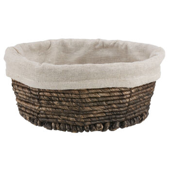 Water Hyacinth Bread Basket