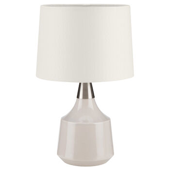 Two-Toned Resin Table Lamp