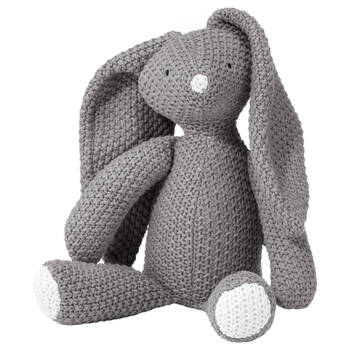 Toutou lapin en tricot