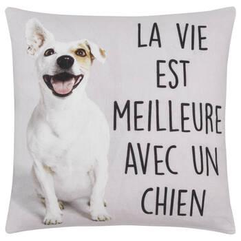 """Fidel Decorative Pillow Cover 18"""" x 18"""""""
