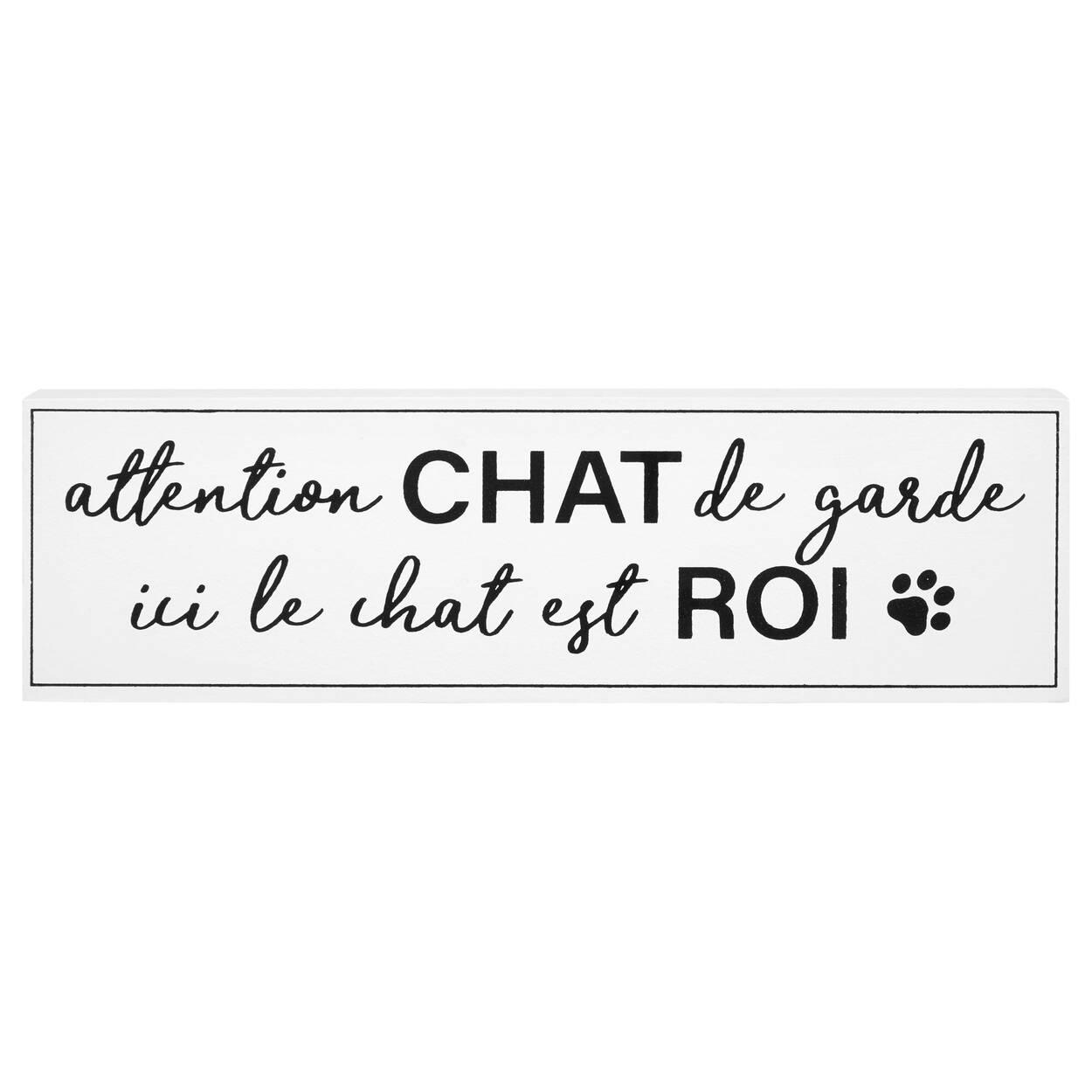 Bloc décoratif Chat