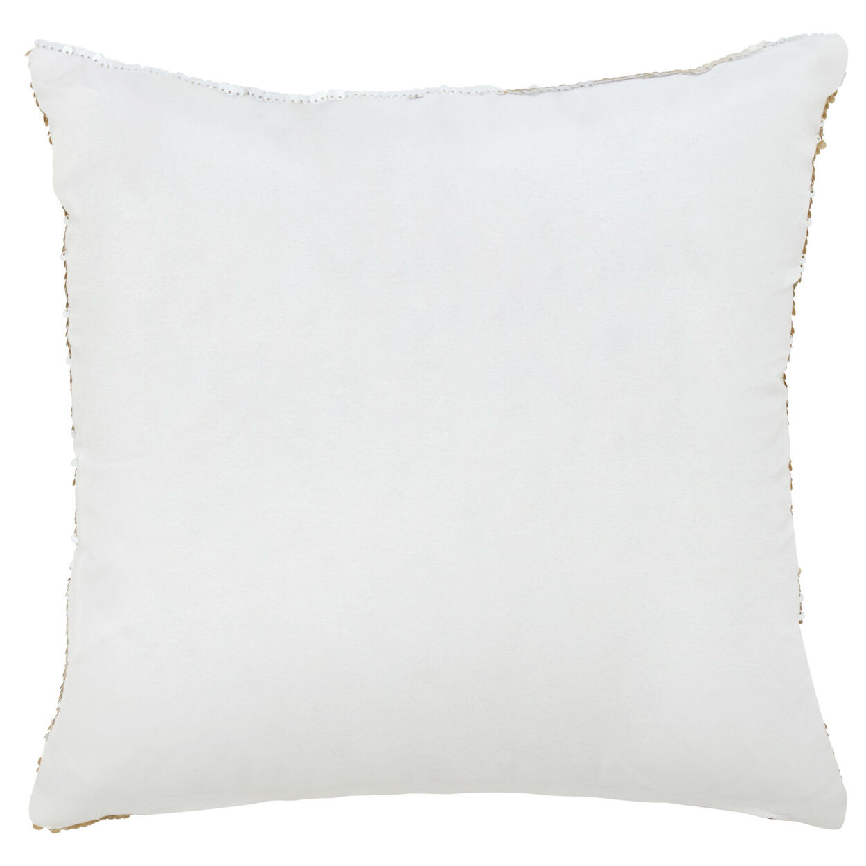 """Love Sequined Decorative Pillow 18"""" X 18"""""""