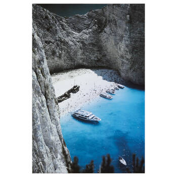 Lagoon Printed Canvas