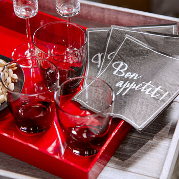 Set of 20 PBon Appétit Table Napkins