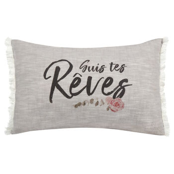 "Beaut Decorative Lumbar Pillow 13"" X 20"""
