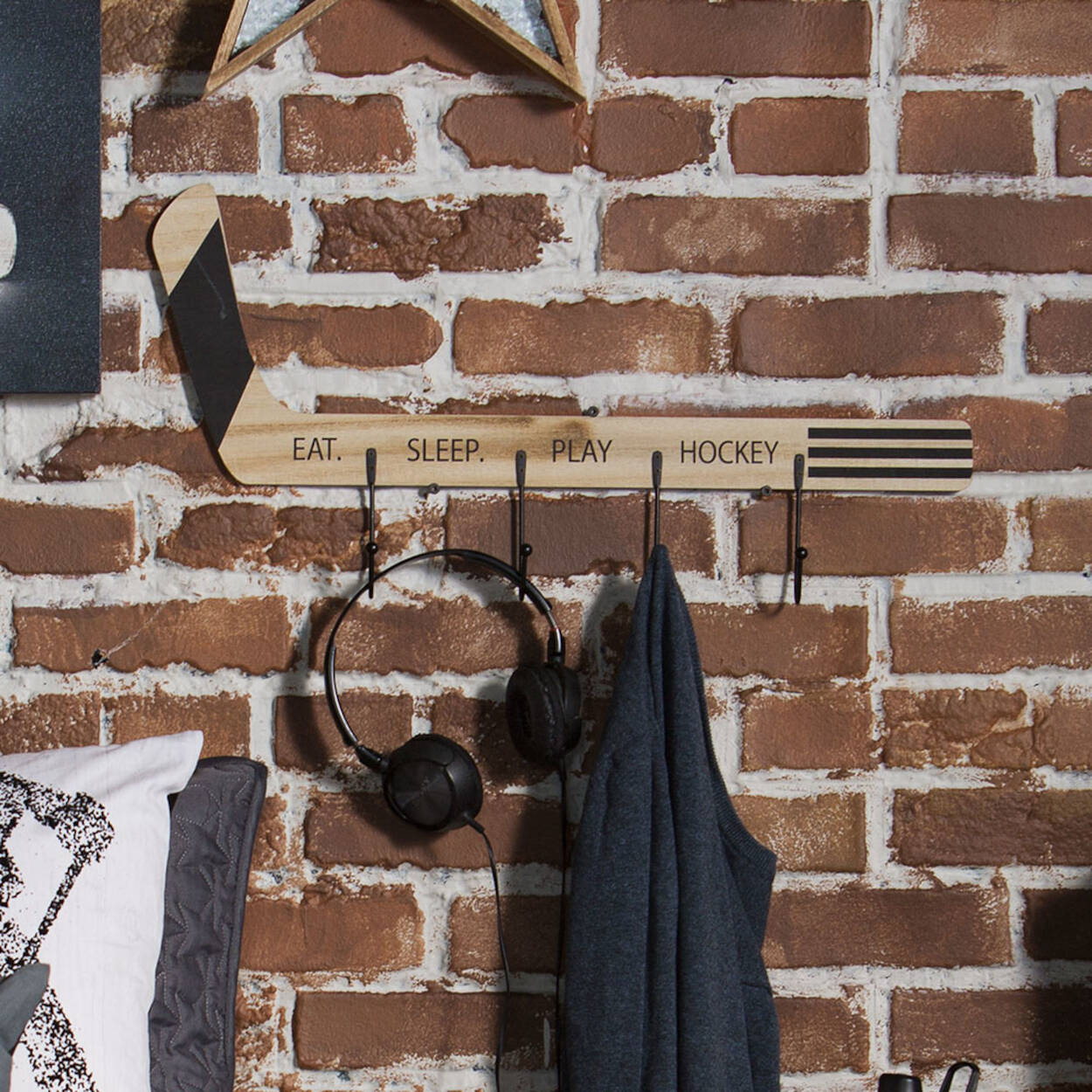 Hockey Stick with Hooks