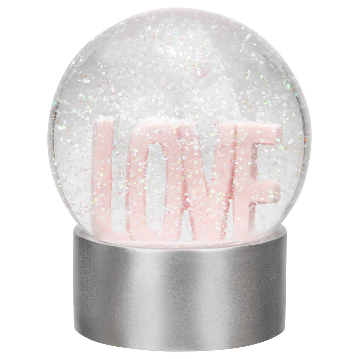Love Glitter Globe