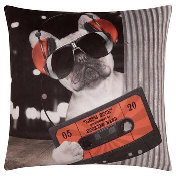 """Cassette Decorative Pillow 18"""" X 18"""""""