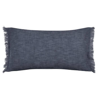 Abel Linen Decorative Lumbar Pillow 14 X 26 Bouclair Com