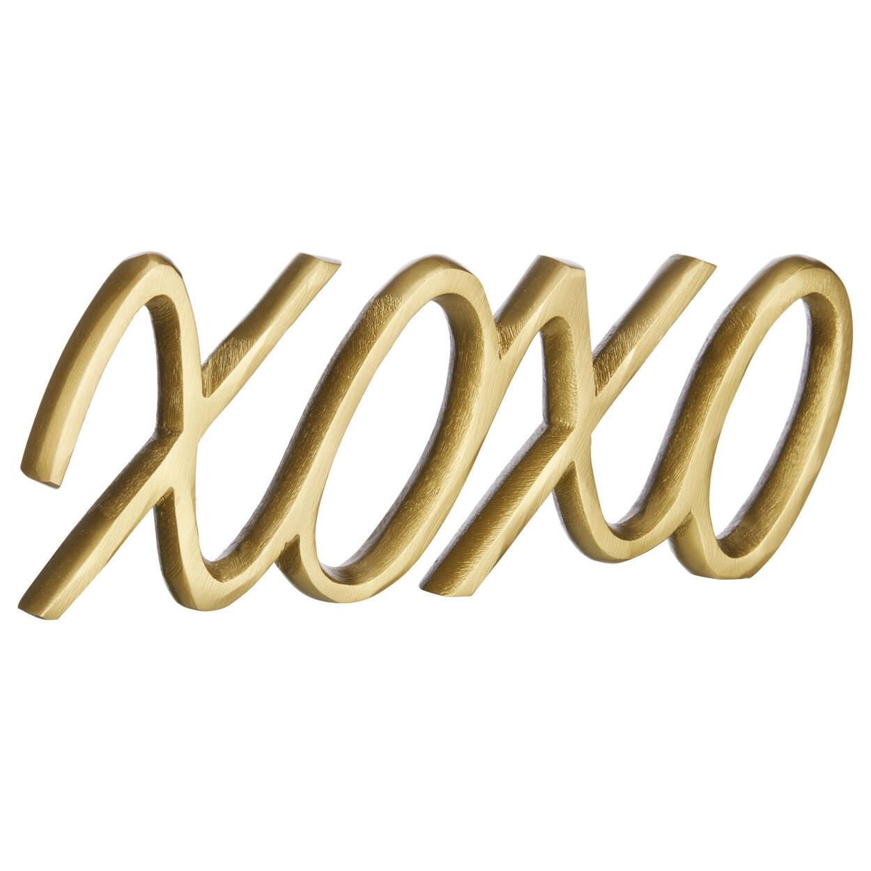 Mot décoratif XO
