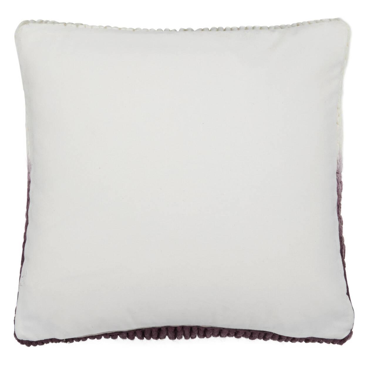 "Sigi Knitted Decorative Ombré Pillow 17"" X 17"""