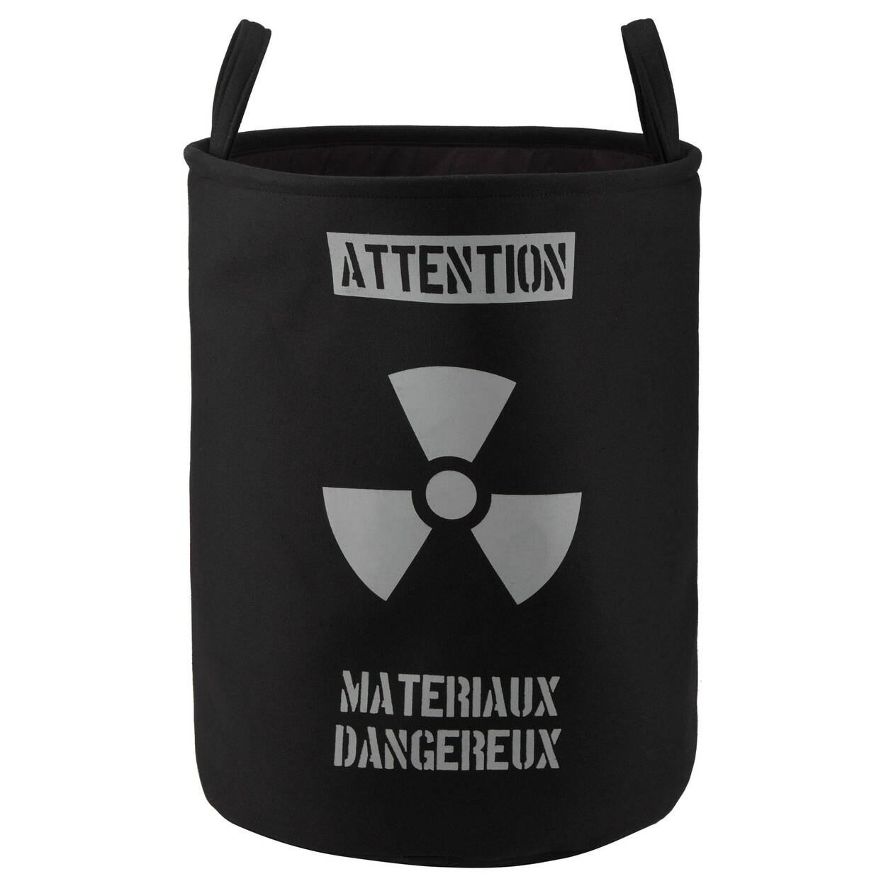 Caution Two-Sided Hamper