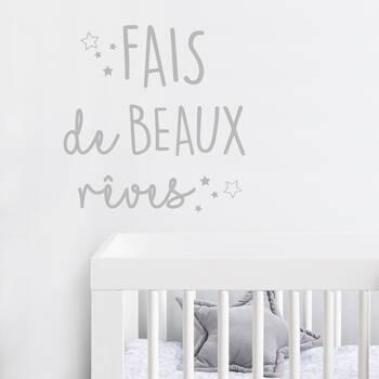 Fais de Beaux Rêves Wall Sticker