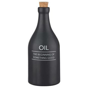 Ceramic Oil Bottle