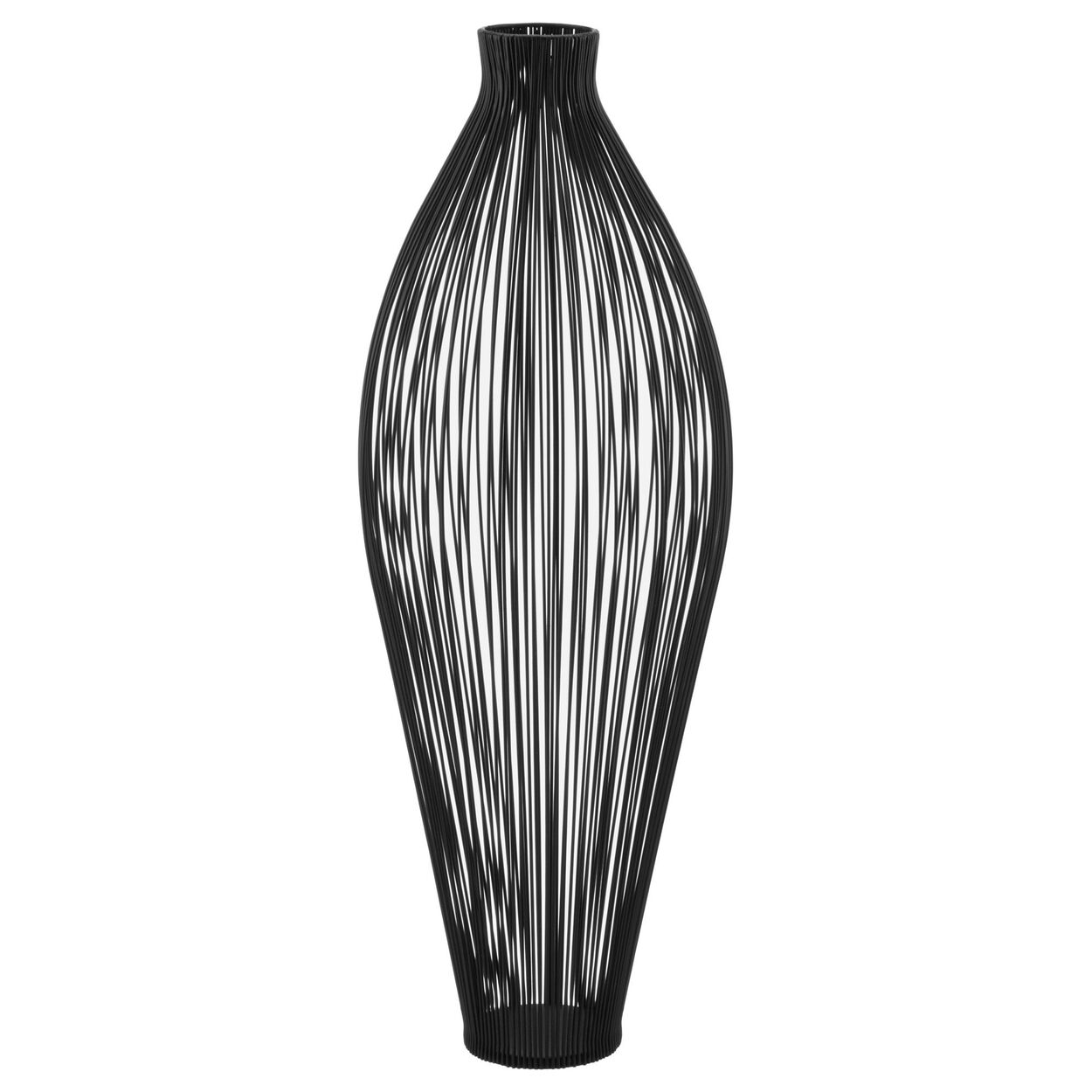 Metal Wire Floor Vase