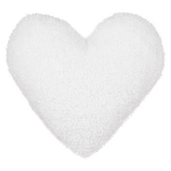 """Coussin décoratif en coeur Neva 15"""" x 16"""""""