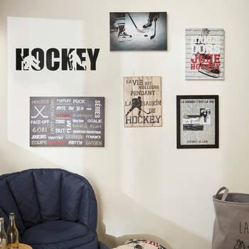 Hockey Wall Sticker
