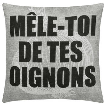 "Oignons Decorative Pillow Cover 18"" X 18"""