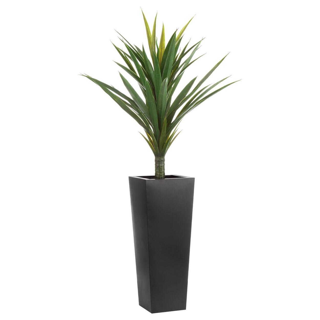 Arbre tropical artificiel en pot