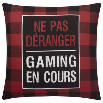 "Gamer Decorative Pillow 18"" x 18"""
