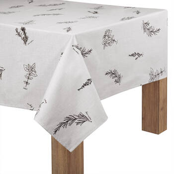 Herbal Printed Tablecloth