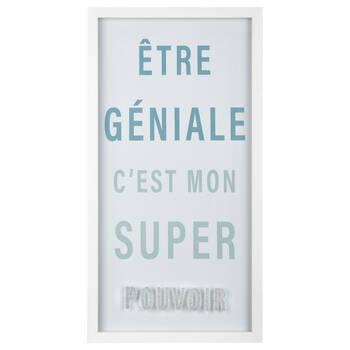 Être Gentille Typography Framed Art