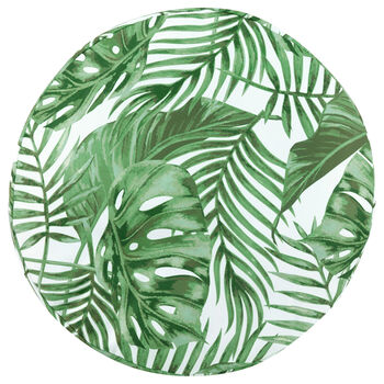 "Tropical Water-Repellent Decorative Floor Pillow 26"" X 26"""
