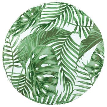 "Tropical Water-Repellent Decorative Floor Pillow 26"" X 26"""