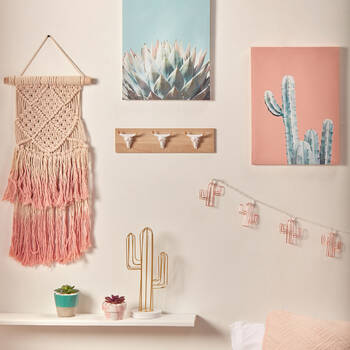 Cactus Printed Canvas