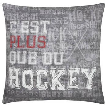 "Hockey Decorative Pillow 19"" X 19"""