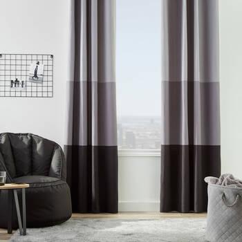 Xavier Colour-Blocked Curtain