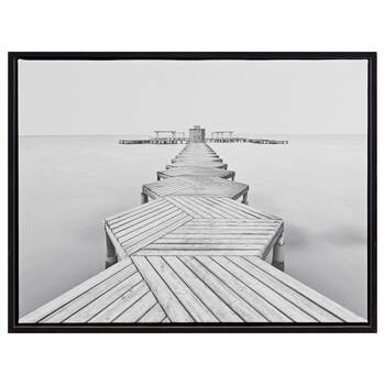 Zigzag Dock Framed Art